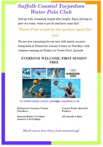 Water Polo Flyer