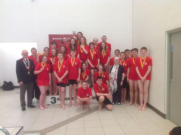 Suffolk Team in East Region Championships